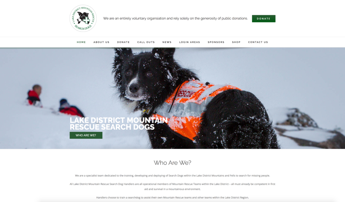 Search Dogs Site